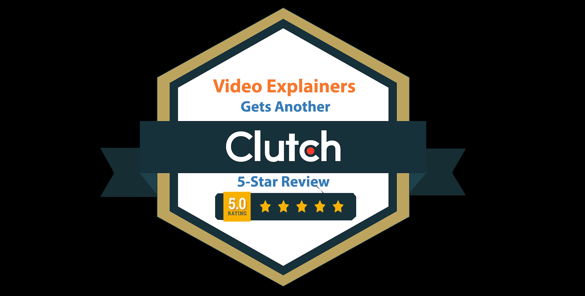 Video Explainers Adds Another 5-Star Review to Clutch Profile